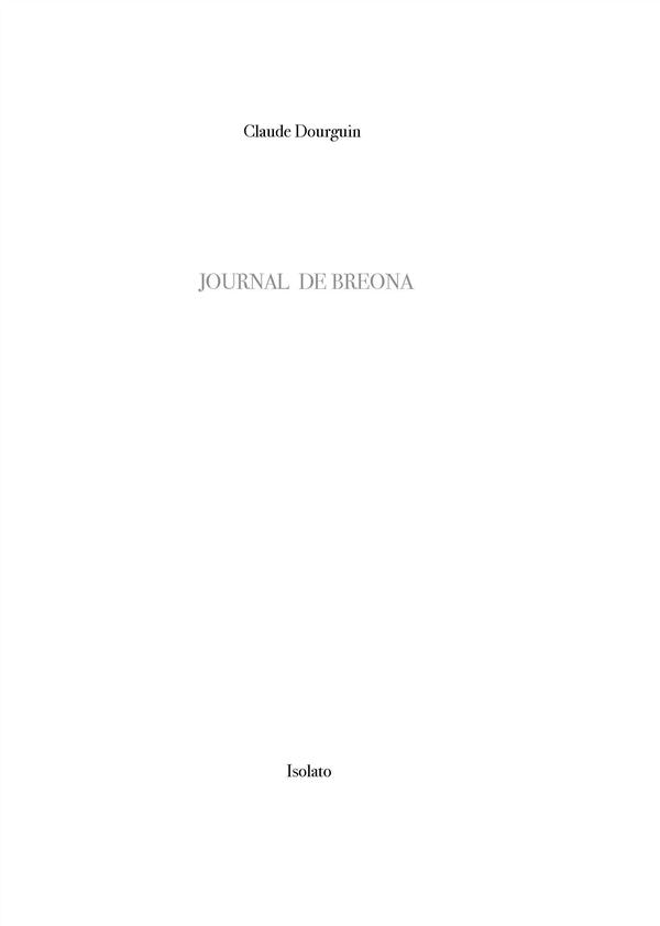 JOURNAL DE BREONA